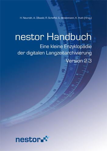 Deckblatt Nestor-Handbuch Version 2.0